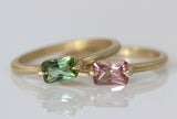 East West Tourmaline Ring