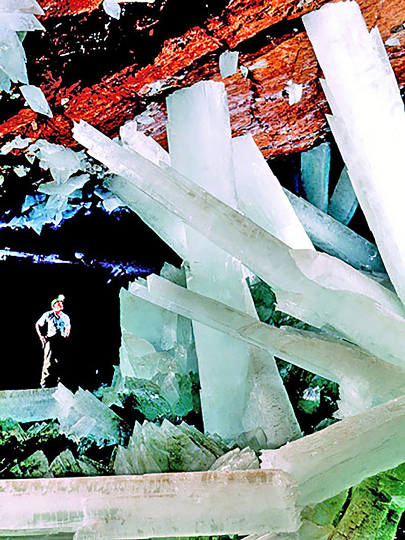 INSPIRATION - NAICA CAVE OF THE CRYSTALS
