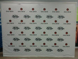 SwiftHopUp Straight Fabric Backdrop - To Fill an 10' Wide Space (Options)