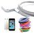 3Meter Braided Charging Cable - iPhone / Android - Random Color