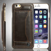 Ultra Slim PU Leather Card Case for iPhone 6s and 6 plus
