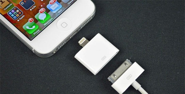 Electronics - 8-Pin To 30-Pin Adapter Converter For IPhone 5