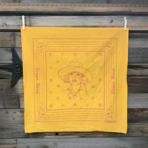 Bandana- Botanical Cowgirl (Brown)