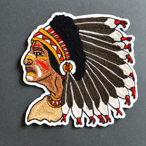 Chain Stitch Patch- Chieftan