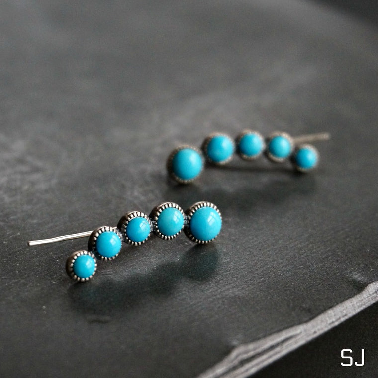 Ilaria Turquoise Earrings