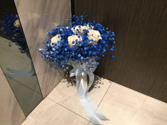 Simple Rose Bridal Bouquet - WED0431