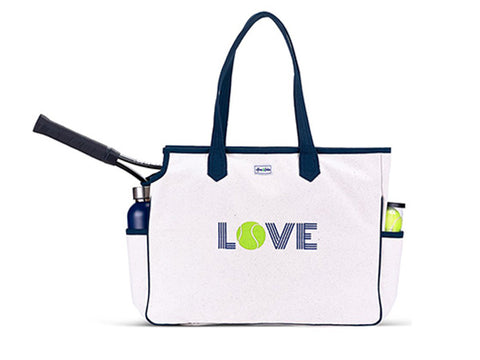 Ame and Lulu Green Love All Court Bag LACB117