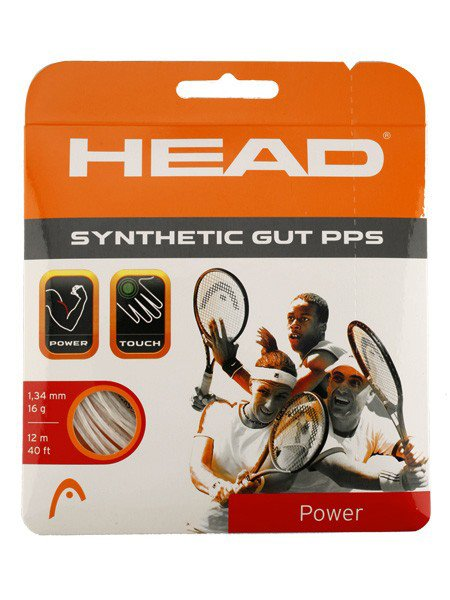 Strings - Head Synthetic Gut PPS 16 String White
