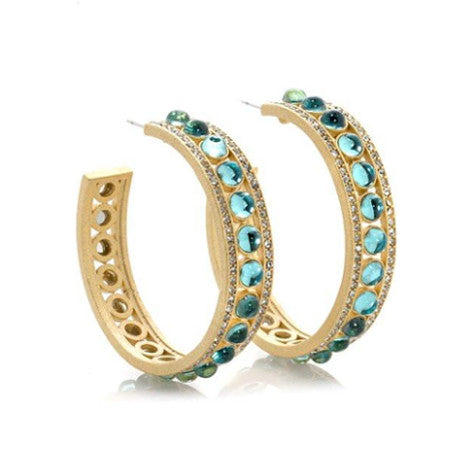 "Roberto by RFM ""Bellissimo"" hoop earrings"