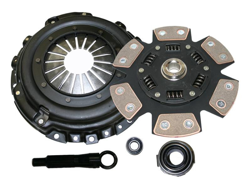 Comp Clutch 2008-2010 Mitsubishi Lancer Evo 10 Stage 4 - 6 Pad Ceramic Clutch Kit - Panda Motorworks