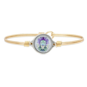 Luca + Danni Brass Tone Lion Bangle