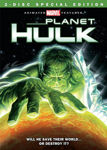 Planet Hulk Special Edition DVD - signed by Greg Pak!