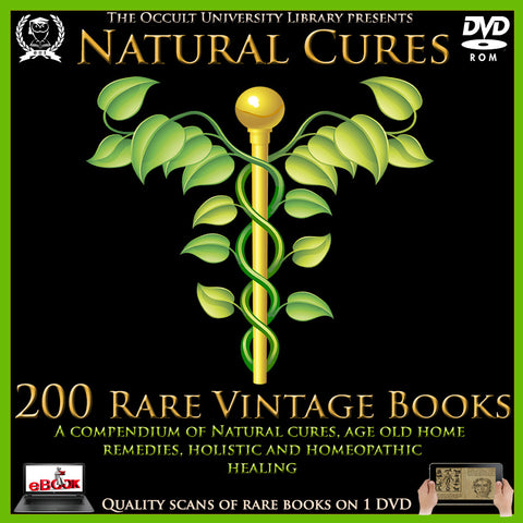 Natural Cures Homeopathy Holistic ebooks Compendium