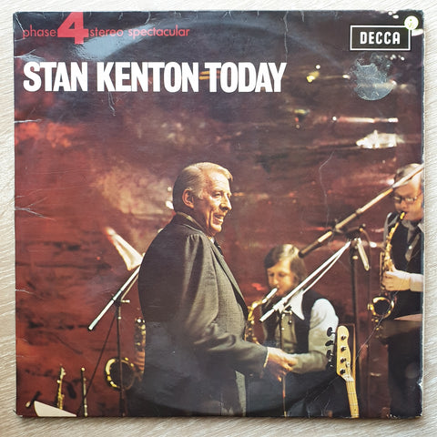 Stan Kenton - Stan Kenton Today - Vinyl LP Record - Opened  - Very-Good Quality (VG)