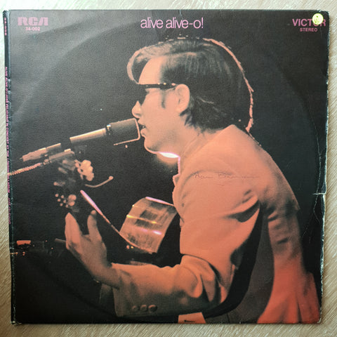 José Feliciano ‎– Alive Alive-O! / José Feliciano In Concert At The London Palladium - Double Vinyl LP Record - Opened  - Very-Good Quality (VG)