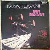 Mantovani And His Orchestra ‎– Latin Rendezvous - Vinyl LP Record - Opened  - Very-Good Quality (VG)