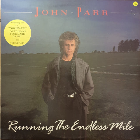 John Parr ‎– Running The Endless Mile -  Vinyl LP Record - Very-Good+ Quality (VG+)