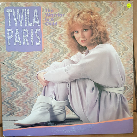 Twila Paris ‎– The Warrior Is A Child - Vinyl LP Record - Opened  - Very-Good Quality (VG)