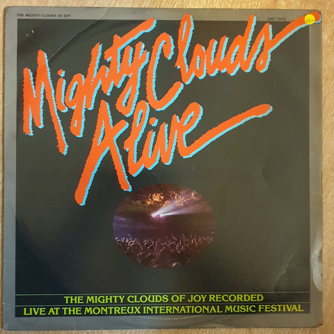 The Mighty Clouds Of Joy ‎– MIghty Clouds Alive - Vinyl LP - Opened  - Very-Good+ Quality (VG+)