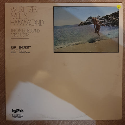 The Peter Loland Orchestra ‎– Wurlitzer Meets Hammond - Vinyl LP Record - Opened  - Very-Good Quality (VG)