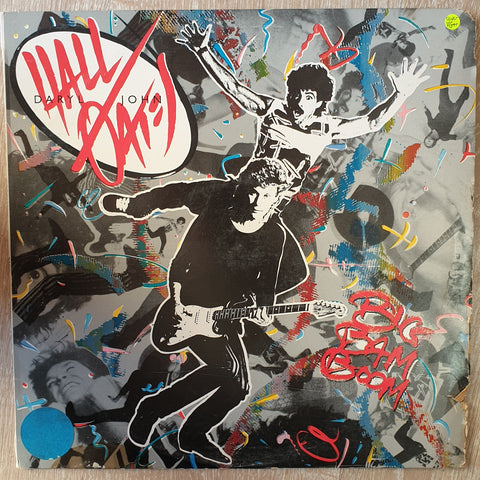 Daryl Hall & John Oates ‎– Big Bam Boom -  Vinyl LP Record - Very-Good+ Quality (VG+)