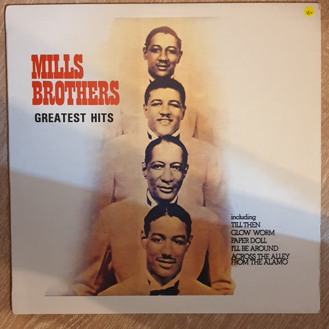 The Mills Brothers ‎– Greatest Hits -  Vinyl LP Record - Very-Good+ Quality (VG+)