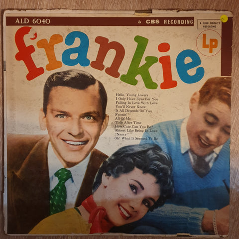 Frank Sinatra ‎– Frankie ‎– Vinyl LP Record - Opened  - Good Quality (G)