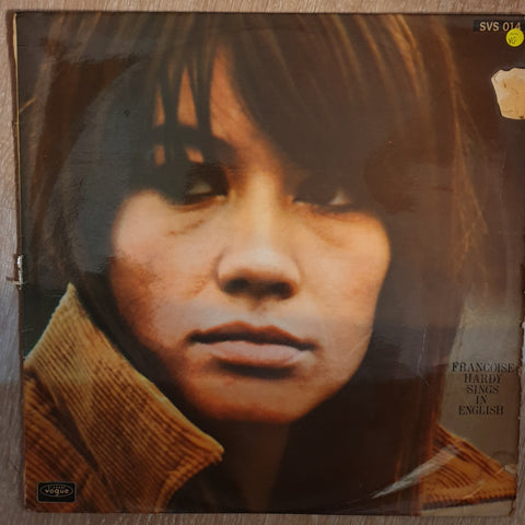 Françoise Hardy ‎– Françoise Hardy Sings In English - Vinyl LP Record - Opened  - Very-Good- Quality (VG-)