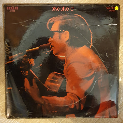José Feliciano ‎– Alive Alive-O! / José Feliciano In Concert At The London Palladium - Double Vinyl LP Record - Opened  - Very-Good+ Quality (VG+)