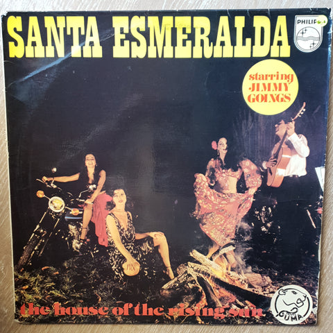 Santa Esmeralda Starring Jimmy Goings ‎– The House Of The Rising Sun -  Vinyl LP Record - Opened  - Good Quality (G)