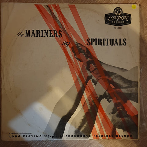 The Mariners ‎– The Mariners Sing Spirituals - Vinyl LP Record - Opened  - Very-Good Quality (VG)