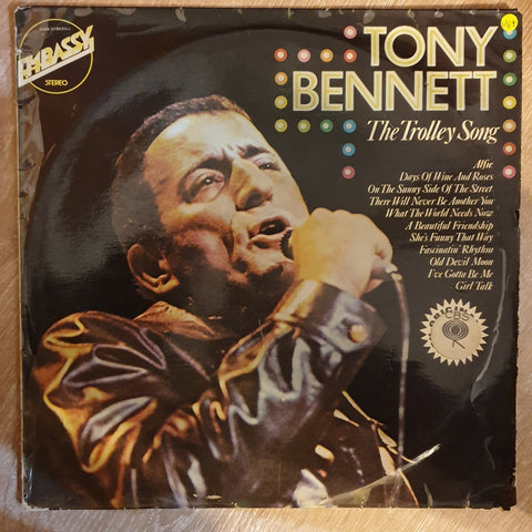 Tony Bennett ‎– The Trolley Song  - Vinyl LP Record - Opened  - Very-Good+ Quality (VG+)