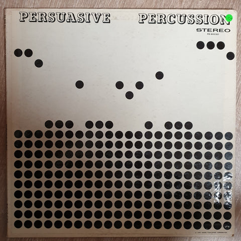 Persuasive Percussion -Terry Snyder And The All Stars ‎– Vinyl LP Record - Opened  - Very-Good+ Quality (VG+)