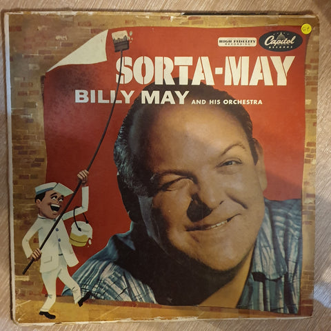 Billy May And His Orchestra ‎– Sorta-May - Vinyl LP Record - Opened  - Good+ Quality (G+)