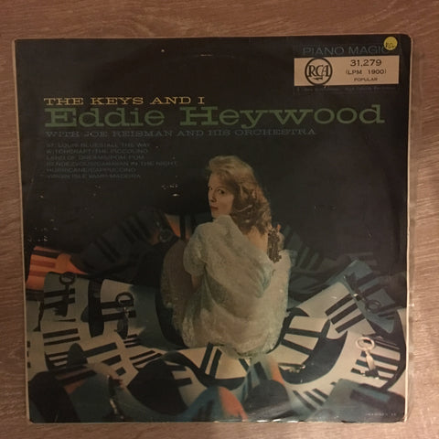 Eddie Heywood ‎– The Keys and I - Vinyl Record - Opened  - Very-Good+ Quality (VG+)