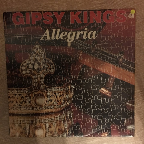 Gipsy Kings ‎– Allegria - Vinyl LP Record - Opened  - Very-Good+ Quality (VG+)