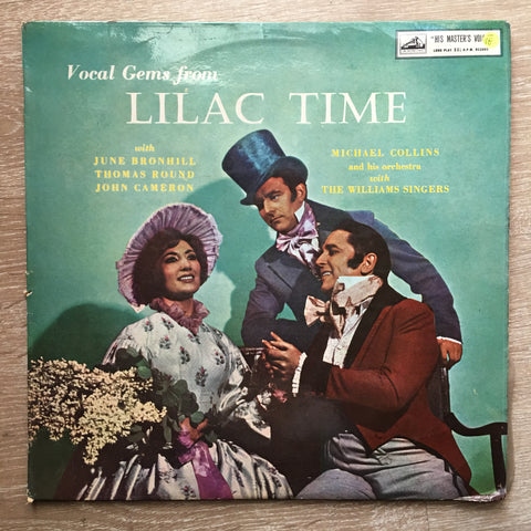 June Bronhill, Thomas Round, John Cameron, Michael Collins And His Orchestra With The Williams Singers ‎– Vocal Gems From Lilac Time- Vinyl LP Record - Opened  - Very-Good- Quality (VG-)
