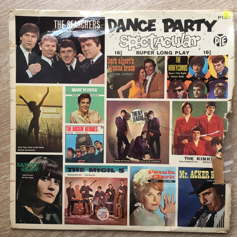 Dance Party Spectacular - 16 2/3 extra long play  - Vinyl LP Record - Opened  - Very-Good- Quality (VG-)