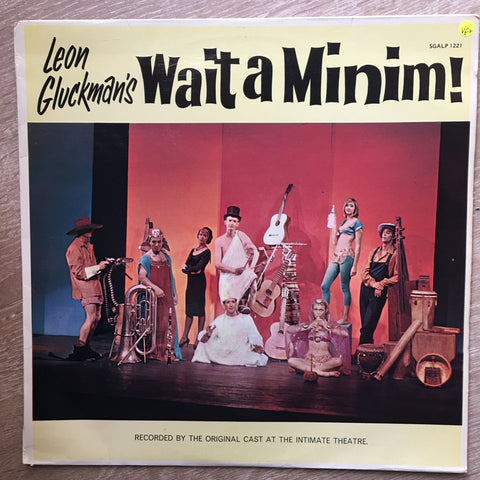 Wait A Minim!  - Leon Gluckman ‎– Rare Original Cast Recording - Vinyl LP Record - Opened  - Very-Good+ Quality (VG+)