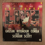 Dave Grusin / Lee Ritenour / Chick Corea / Diane Schuur / Tom Scott ‎– GRP Super Live  - Double Vinyl LP Opened - Near Mint Condition (NM)