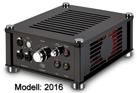 Audiovalve Luminare Electrostatic + Dynamic Combined HiFi Headphone Amplifier Standard Edition (Ships in 4 Weeks)
