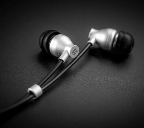 HiFiMan RE800 Silver In-Ear Monitor Diaphragm Dynamic Driver in-Ear Monitors Headphones Earphone (Ships in 2-3 weeks)