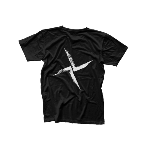 Black Burial Back Logo T-Shirt