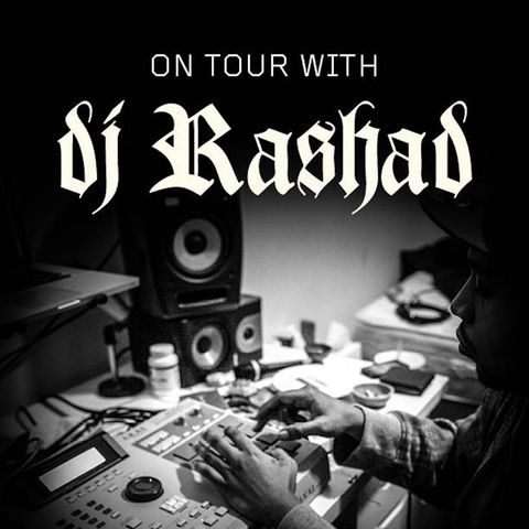 On Tour With DJ Rashad Book by Ashes57