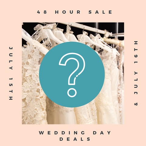 Wedding Day Deals from The Last Minute Bride