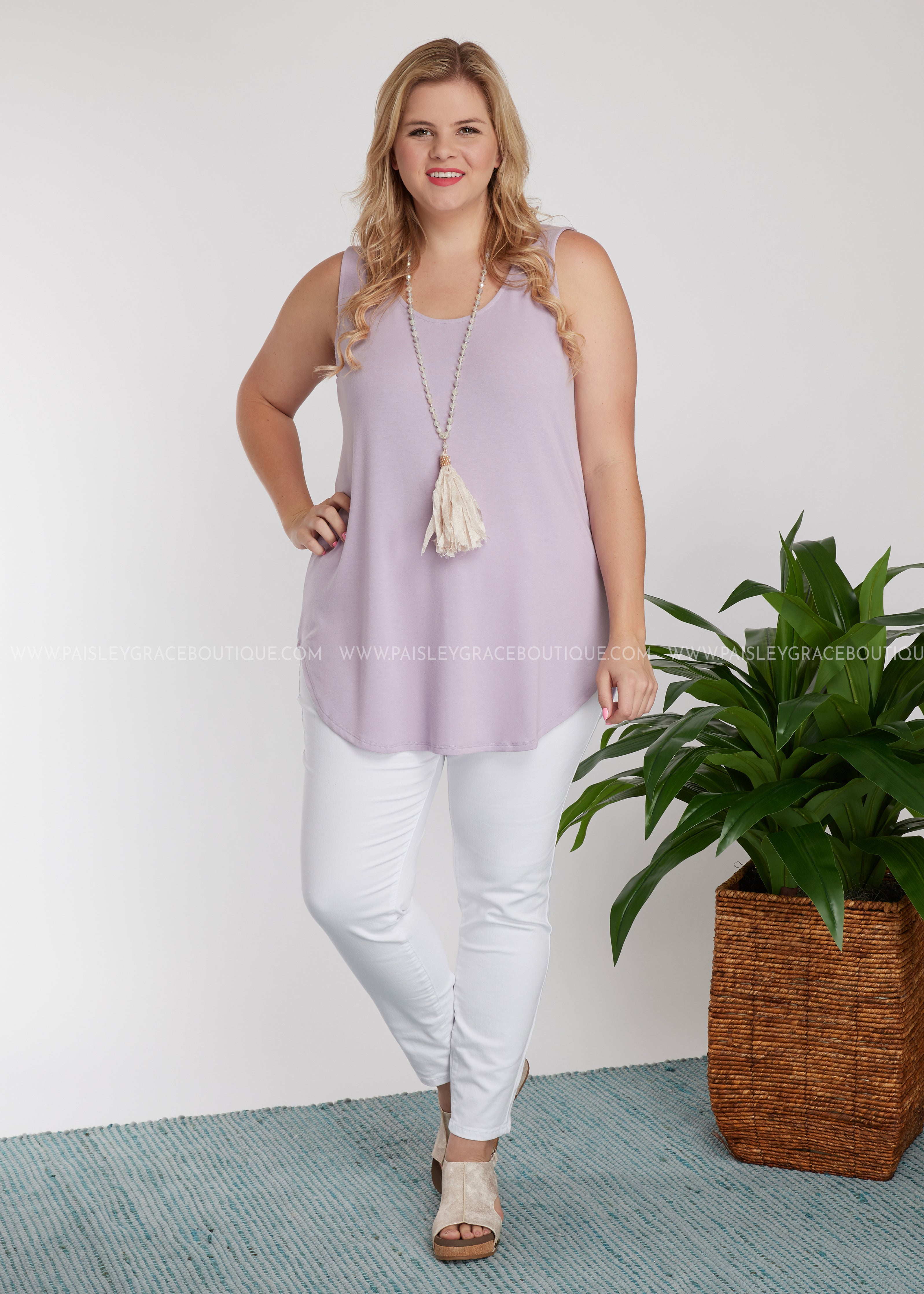 The Ruby Tank- LAVENDER