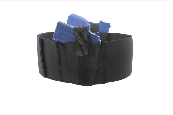 4 Inch Wide Two Gun Belly Band Holster