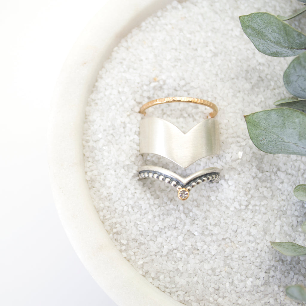 aria ring : silver