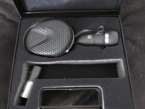 STC/COLES 4038 BBC STUDIO RIBBON MICROPHONE INCLUDING CASE & ADAPTER W/XLR CONNE