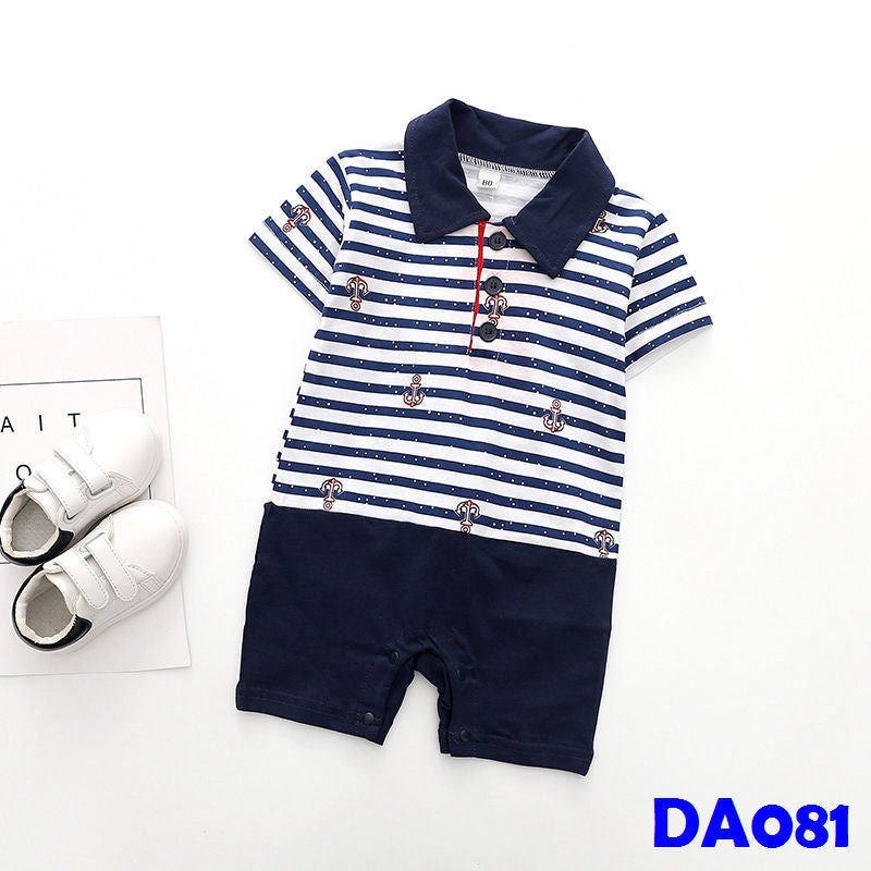 (DA081) Baby Rompers - Anchor